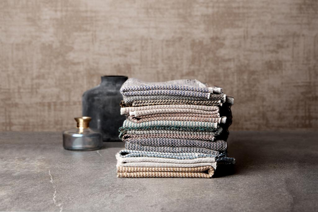 Linen life collection by Ter Molst at Heimtextil